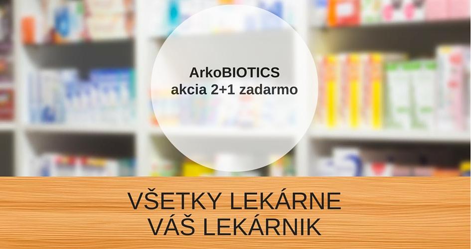 ArkoBIOTICS 2+1 zadaArmo – VÁŠ LEKÁRNIK